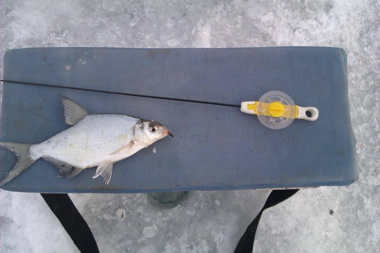 Рыбалка на черта зимой