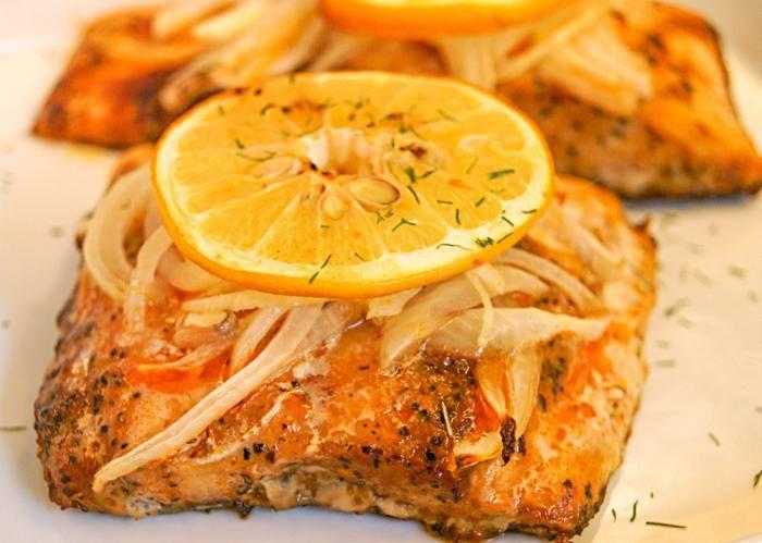 Рыба под маринадом по классическому рецепту в духовке