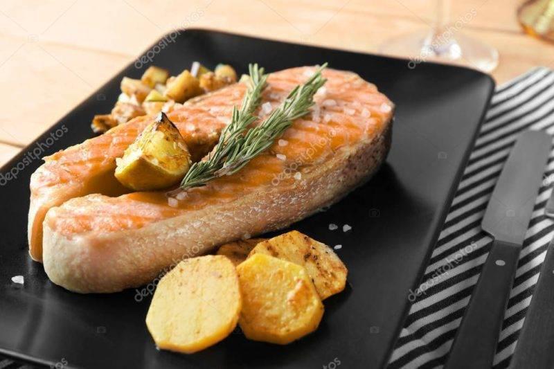 Стейк из лосося — лучшие рецепты. как правильно и вкусно приготовить стейк из лосося.