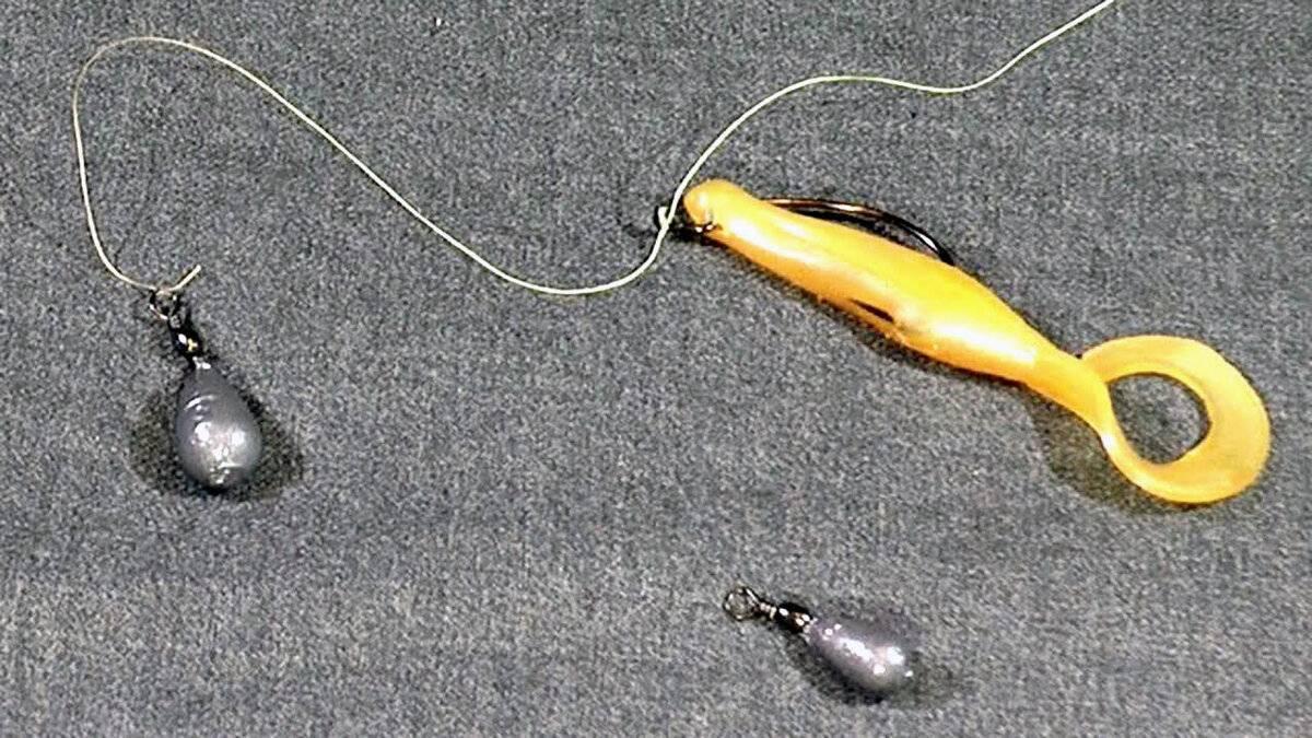 Оснастка дроп-шот и ее монтаж
