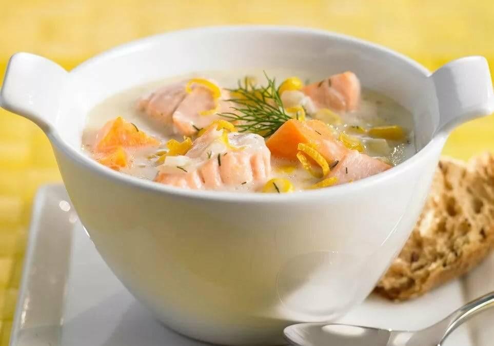 Рыбный суп со сливками