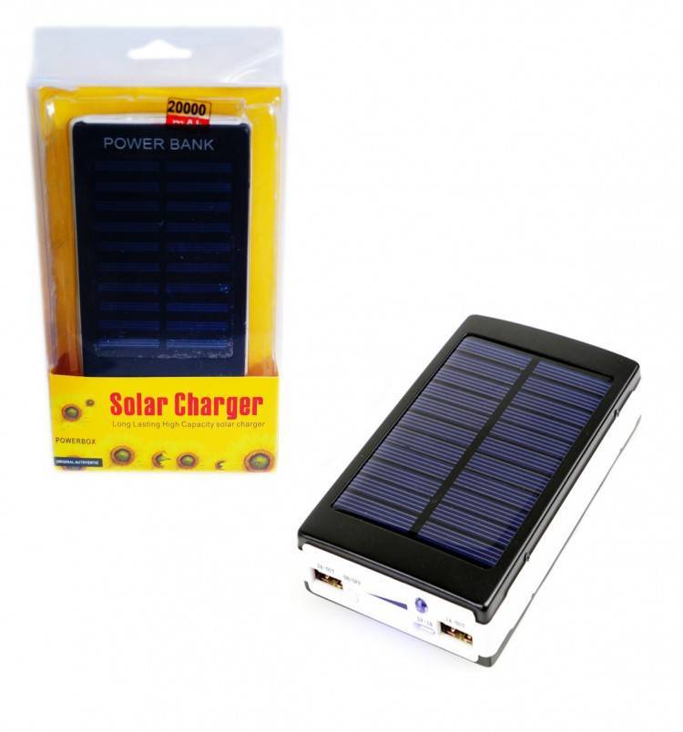 Лучший power bank на солнечных батареях | auto-gl.ru