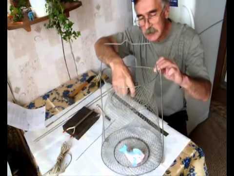 Как сделать садок для рыбы своими руками?