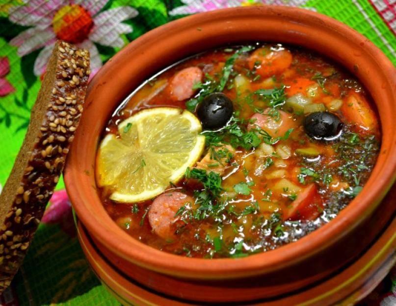 Рыбная солянка – рецепты длядома