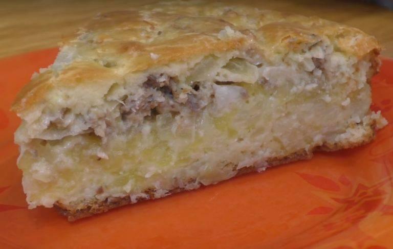 Пирог с рыбными консервами в духовке, 7 самых вкусных рецептов