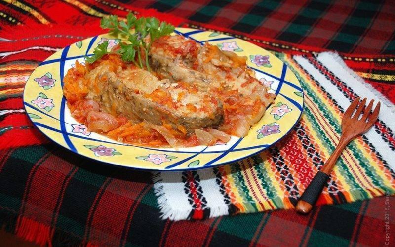 Рыба под маринадом – кулинарный рецепт