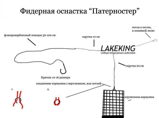 Как вязать патерностер гарднера для фидера: подробная инструкция