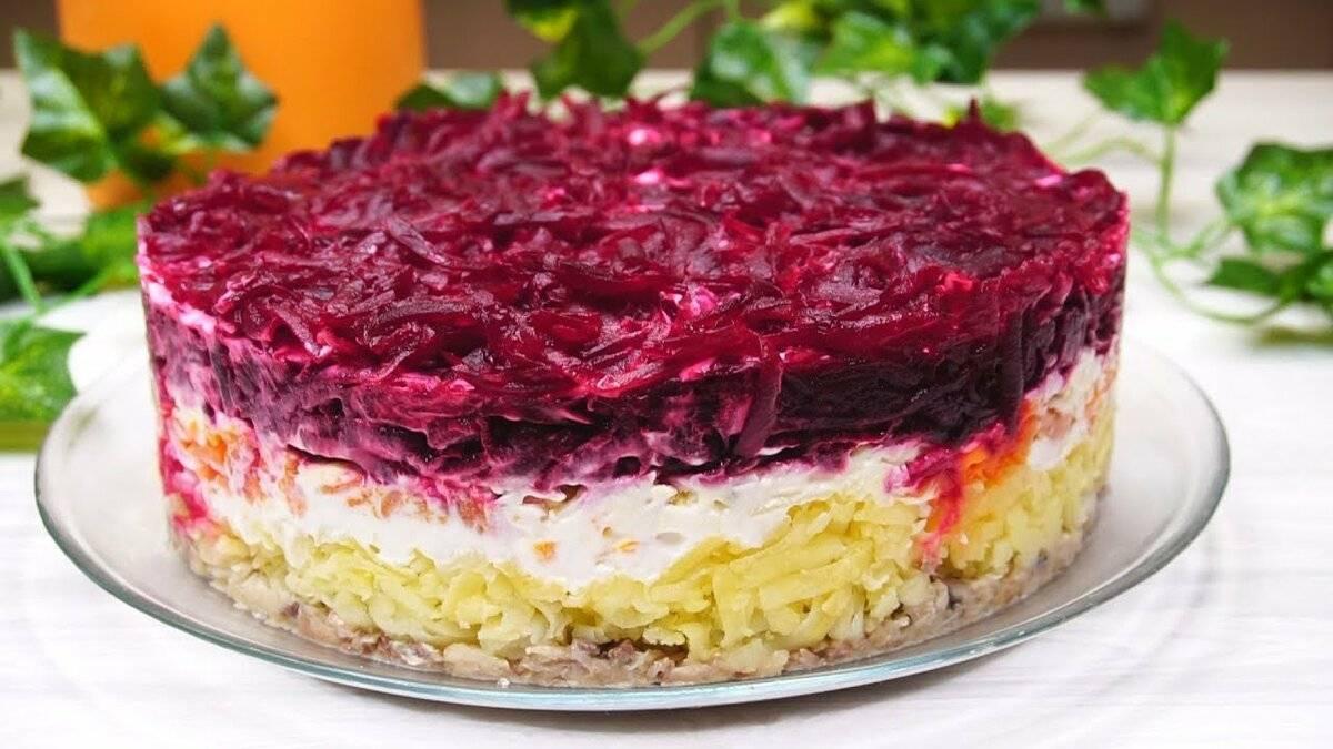 Салат семга под шубой - рецепт с фото пошагово