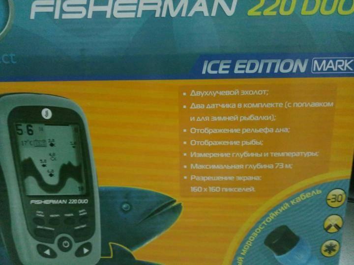 Jj-connect fisherman 220 duo - купить , скидки, цена, отзывы, обзор, характеристики - эхолоты