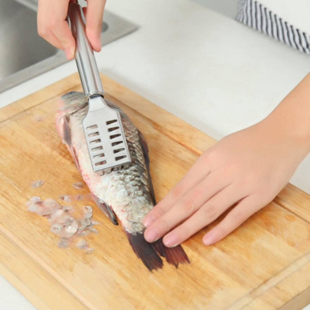 Чистилка для рыбы своими руками. чистилка для рыбы