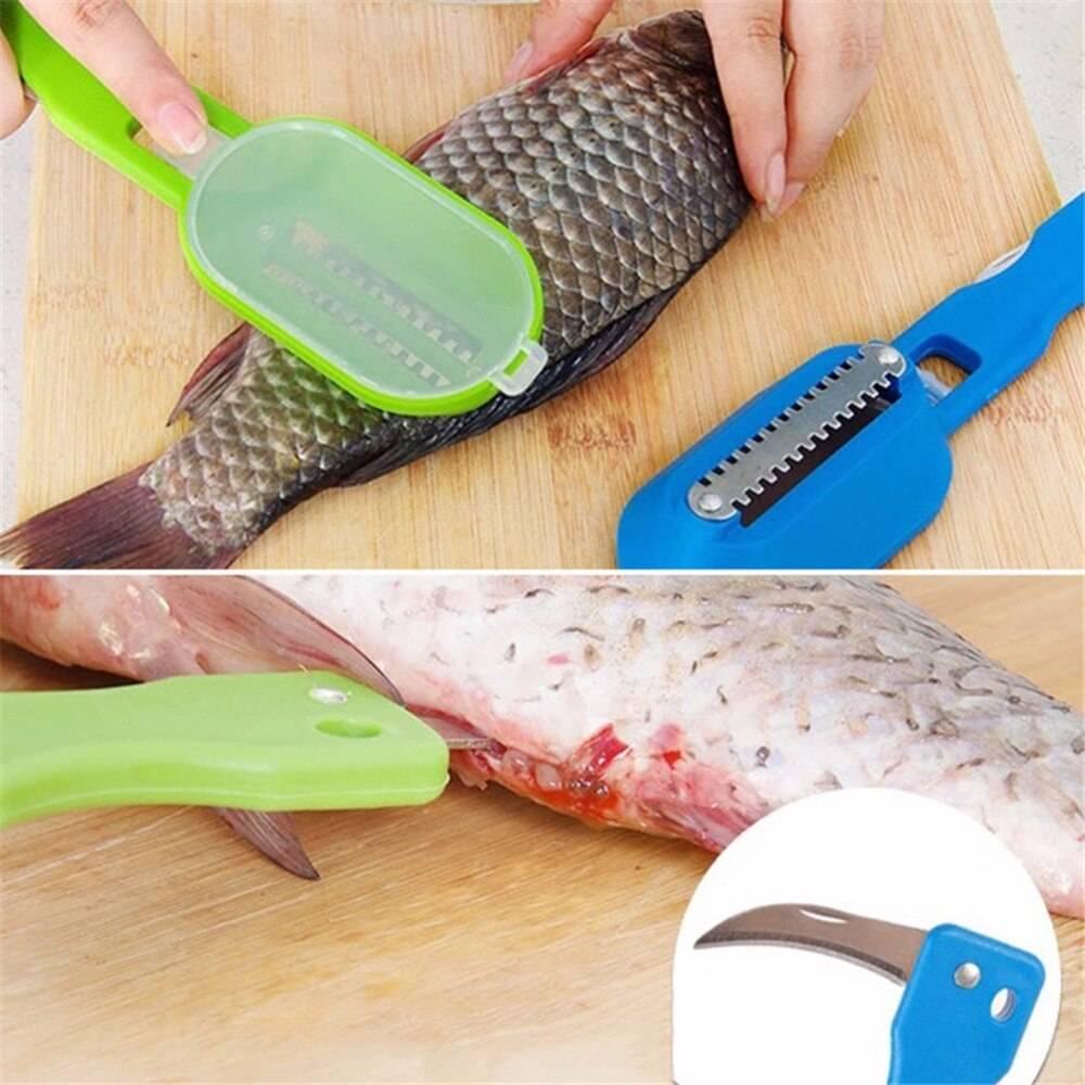 Ножи для чистки рыбы: виды, обзор производителей, выбор и использование