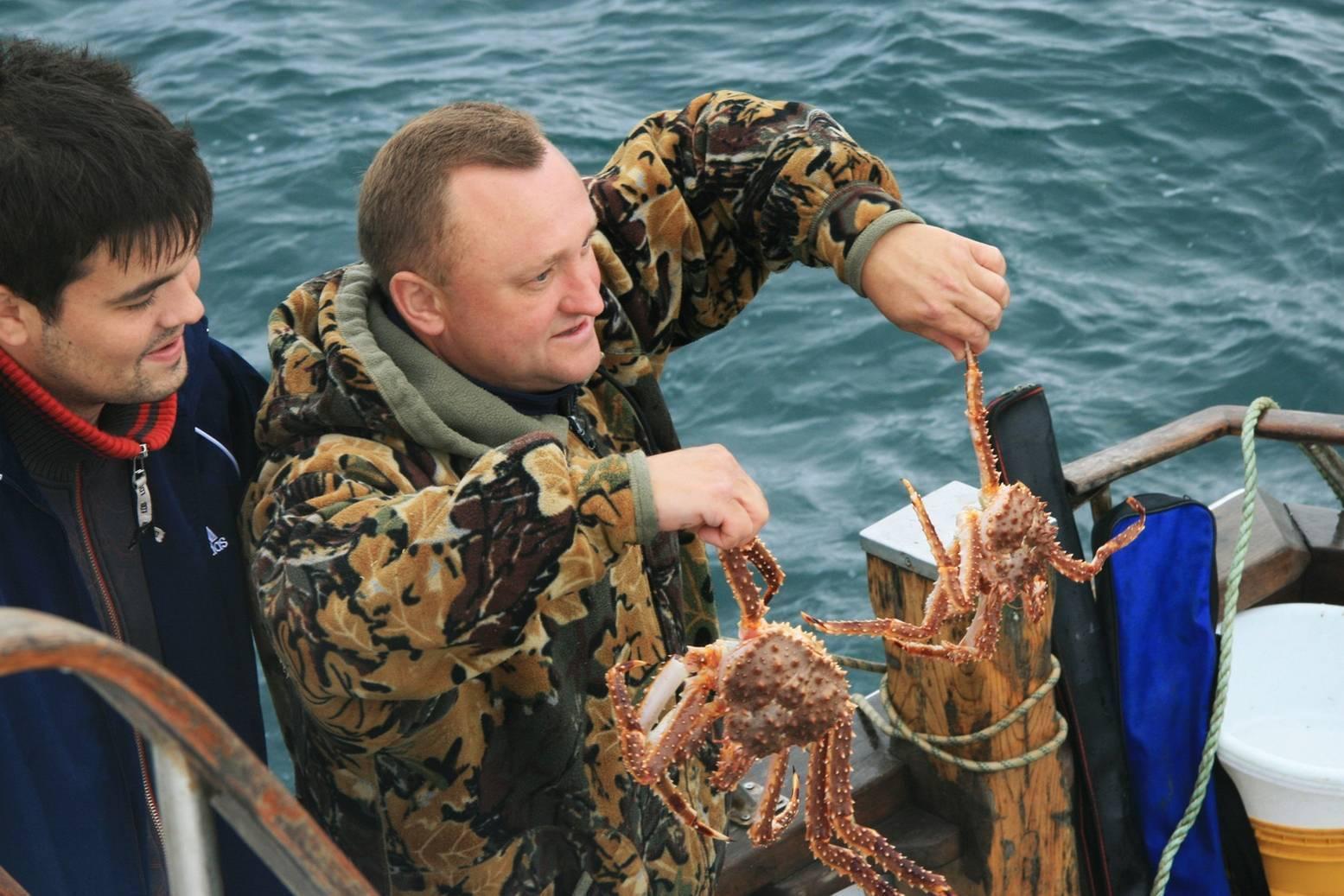 Как ловить крабов на черном море