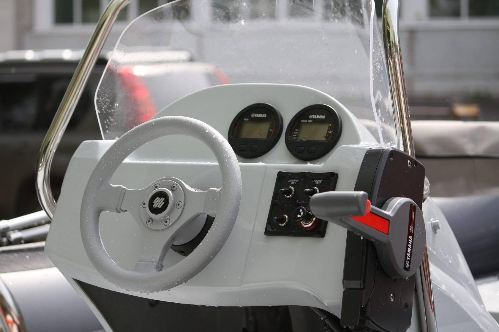 Дистанционное управление лодочным мотором своими руками