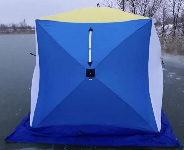 ❄️выбираем лучшие зимние палатки для рыбалки и туризма