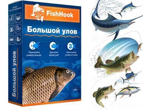 Fishhook активатор клева рыбы