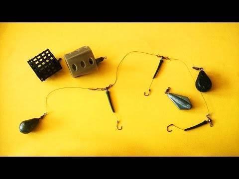Как собрать закидушку для рыбалки
