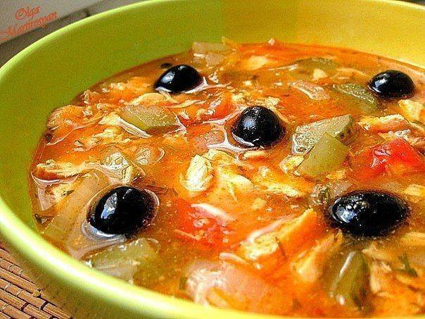 Суп рыбная солянка классическая