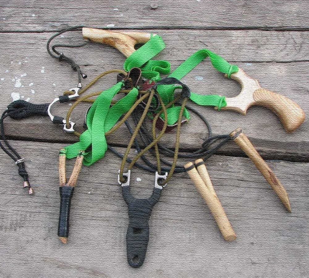 Рогатка для охоты своими руками - чертежи рогатки для охоты