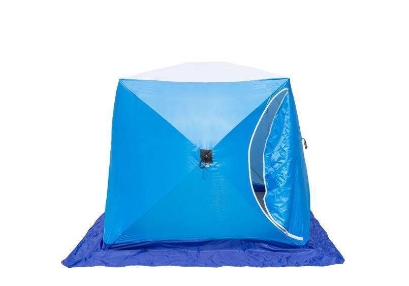 Палатка для зимней рыбалки: как и какую выбрать, на что обратить внимание