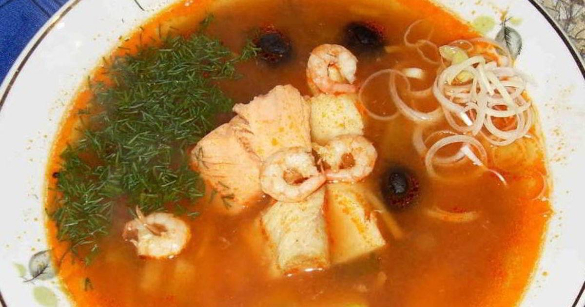5 рецептов рыбных супов от шеф-поваров