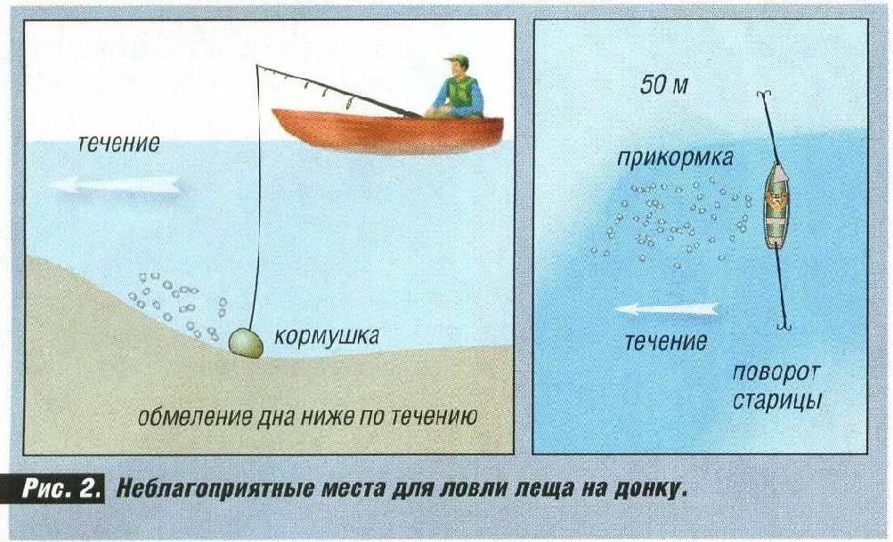 Поплавочная ловля на течении