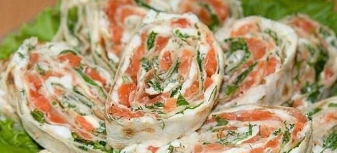 """Рулет из лаваша """"рыбка моя"""" – кулинарный рецепт"""