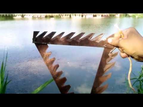 Снасть коса для рыбалки - рыбалка