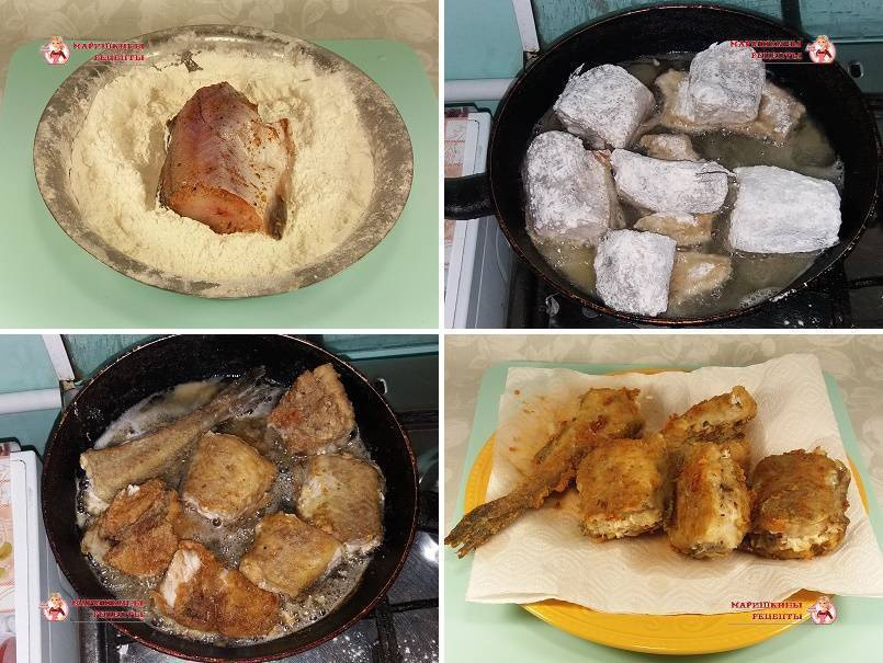 Как вкусно пожарить хек на сковороде: рецепт приготовления в муке