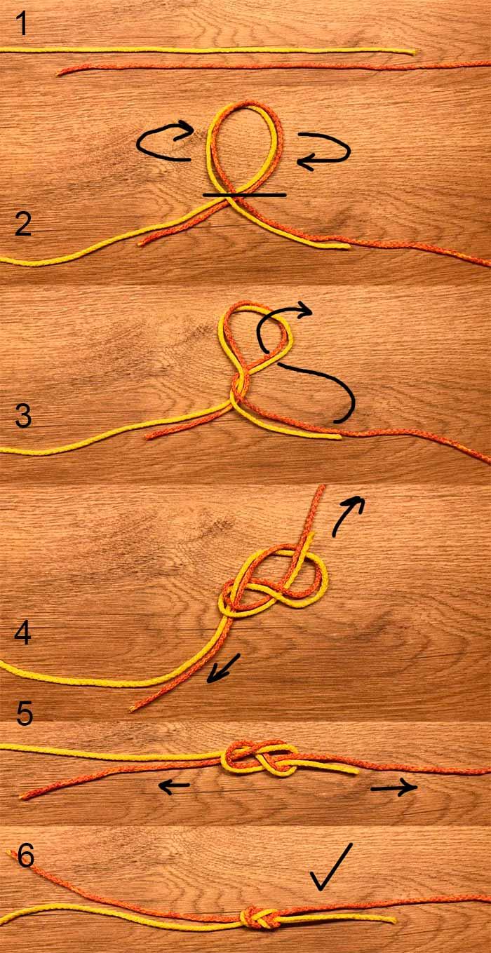 Как вязать узел восьмерка правильно, видео схема узла для рыбалки
