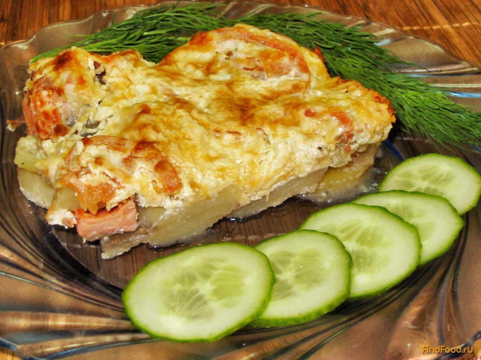 Рыба с картошкой в духовке - 5 пошаговых рецептов с фото и видео