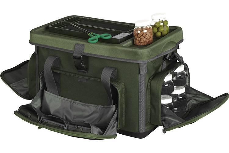 Рыболовные принадлежности: аксессуары для рыбалки, чемоданы и напальчник, рыбацкие гаджеты и термосы, органайзеры для снастей и посуда, другие вещи