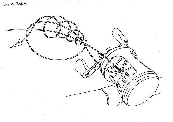 Как правильно наматывать леску на шпулю катушки