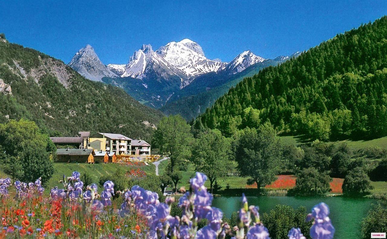 Самые прекрасные водоемы региона прованс-альпы-лазурный берег