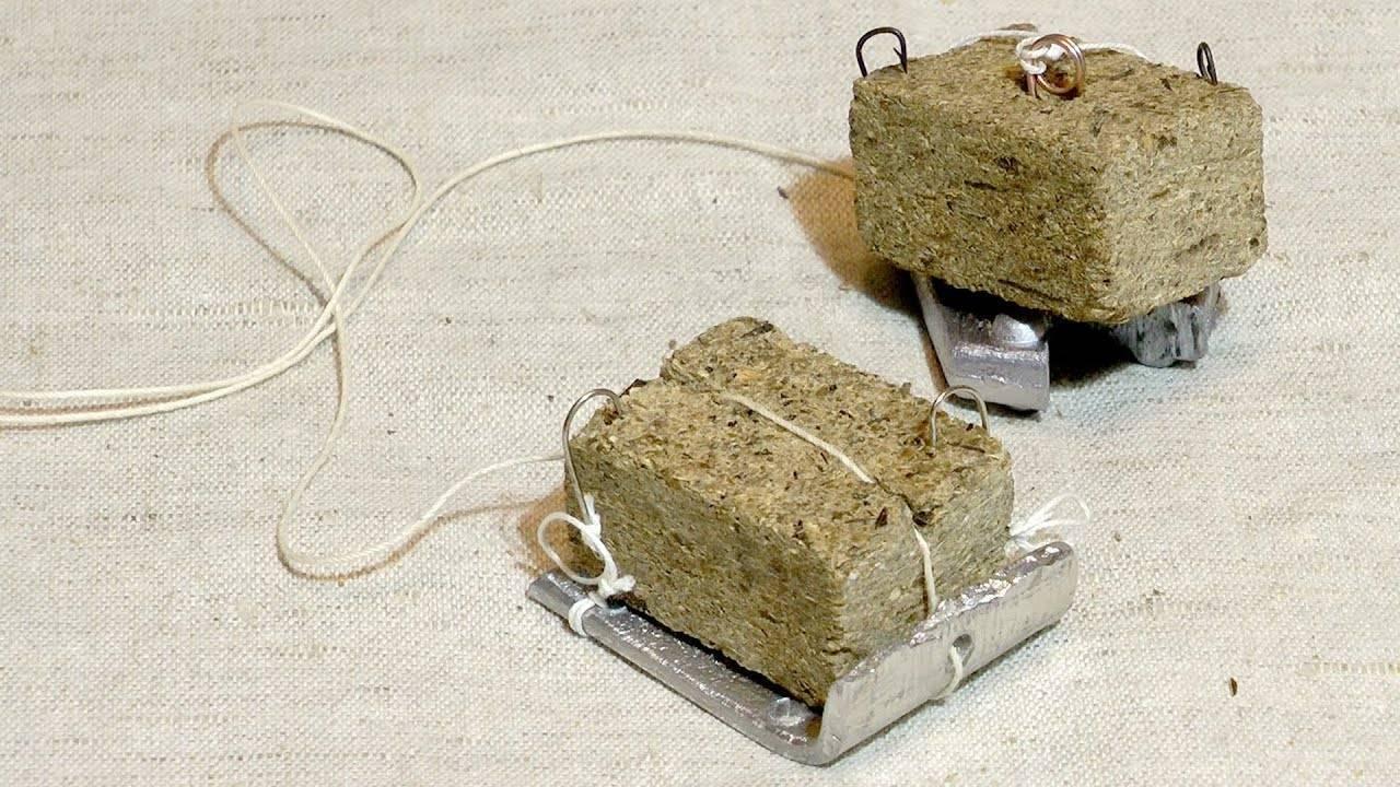 Ловля карпа на макушатник (жмых): схема оснастки, способы изготовления и применения