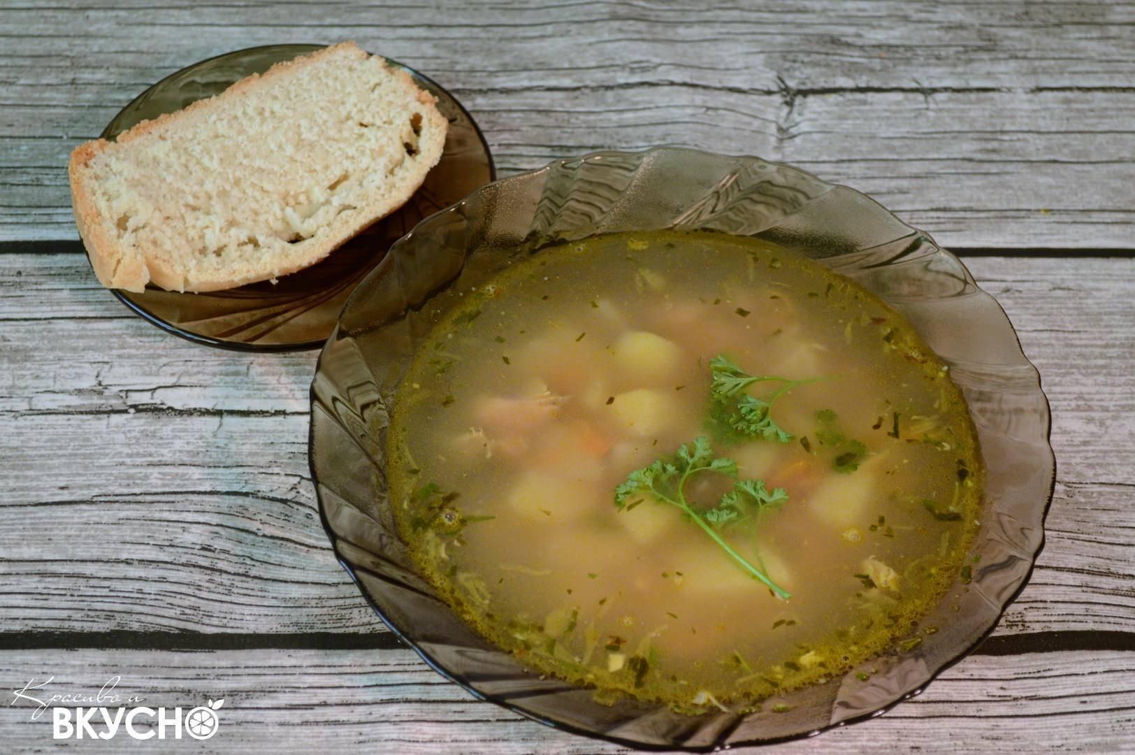 Рыбный суп из консервов горбуши с картошкой рецепт с фото пошагово и видео - 1000.menu