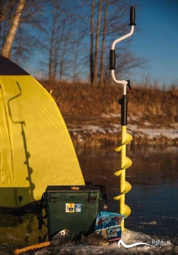 Какие буры для зимней рыбалки лучше купить. барнаульские, айсберг, титановые, ленинградские и мото ледобуры