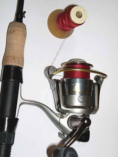 Как намотать леску на простую катушку удочки - рыбалка
