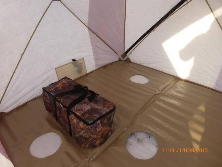 Зимняя палатка для рыбалки своими руками. как сделать палатку своими руками