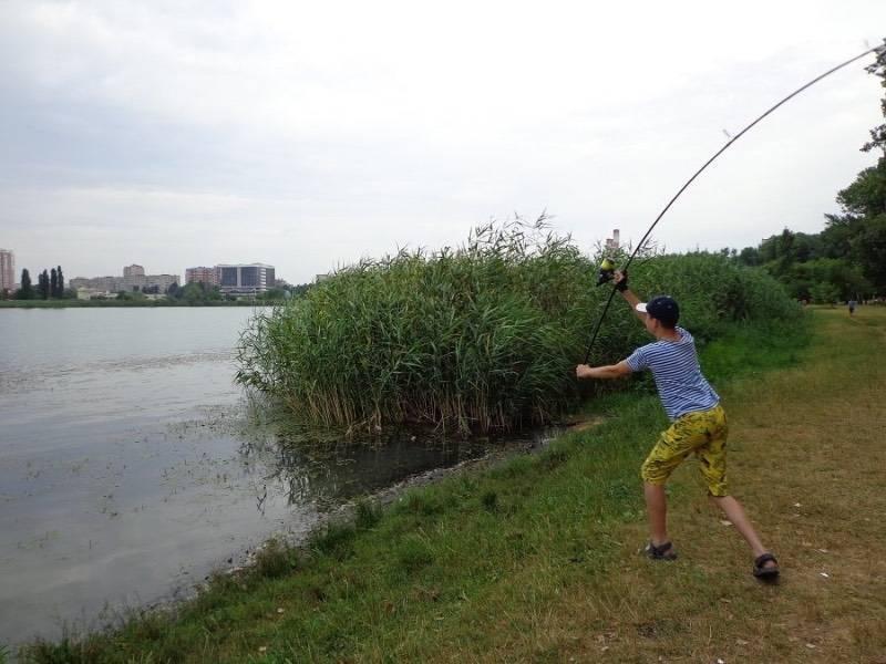 Рыбалка карп карась видео