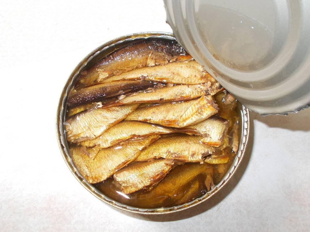 Шпроты из речной рыбы домашние