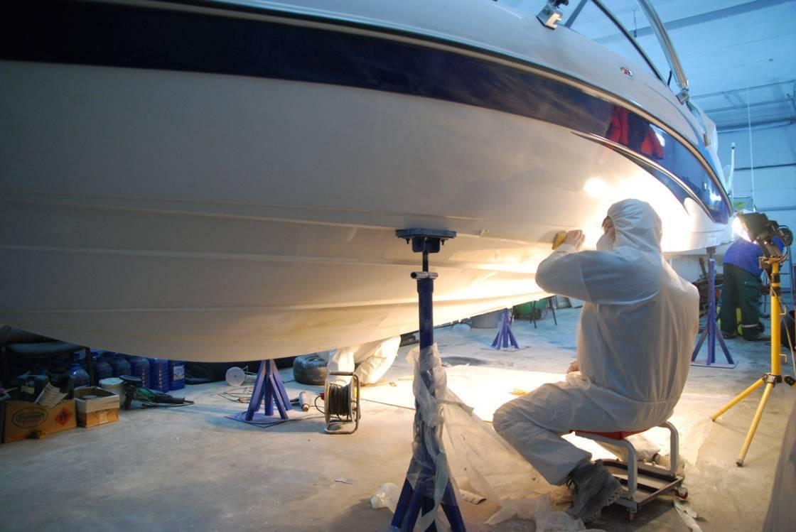 Особенности покраски лодок из пластика, дерева, пвх, алюминия