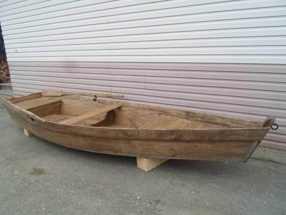Как сделать лодку из досок своими руками