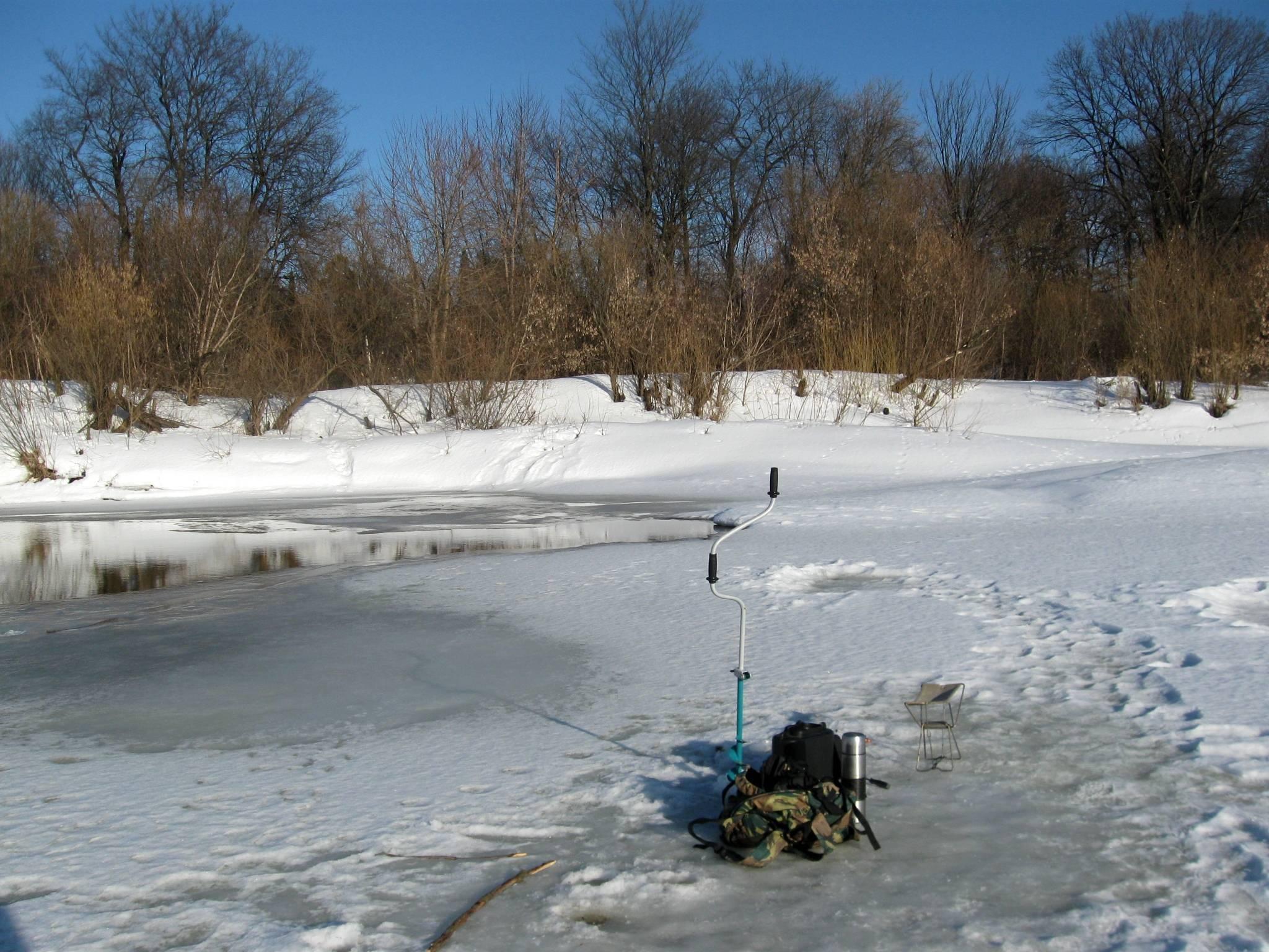 Рыбалка на малой реке: зимние удочки, донки поставухи, налим
