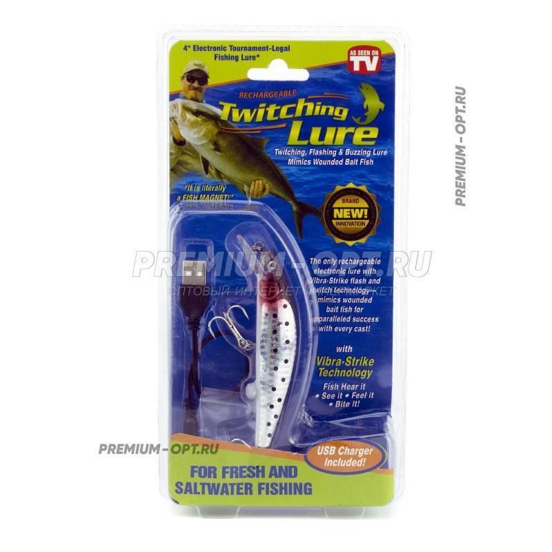 Приманка twitching lure: характеристика электронного воблера или рыбки-приманки для рыбалки, инструкция по применению для рыбаков
