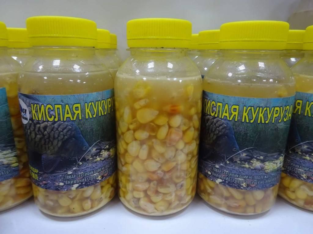 Ферментированная кукуруза для рыбалки: приготовление и хранение