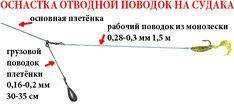 Как ловить на отводной поводок? разбираем все моменты московской оснастки
