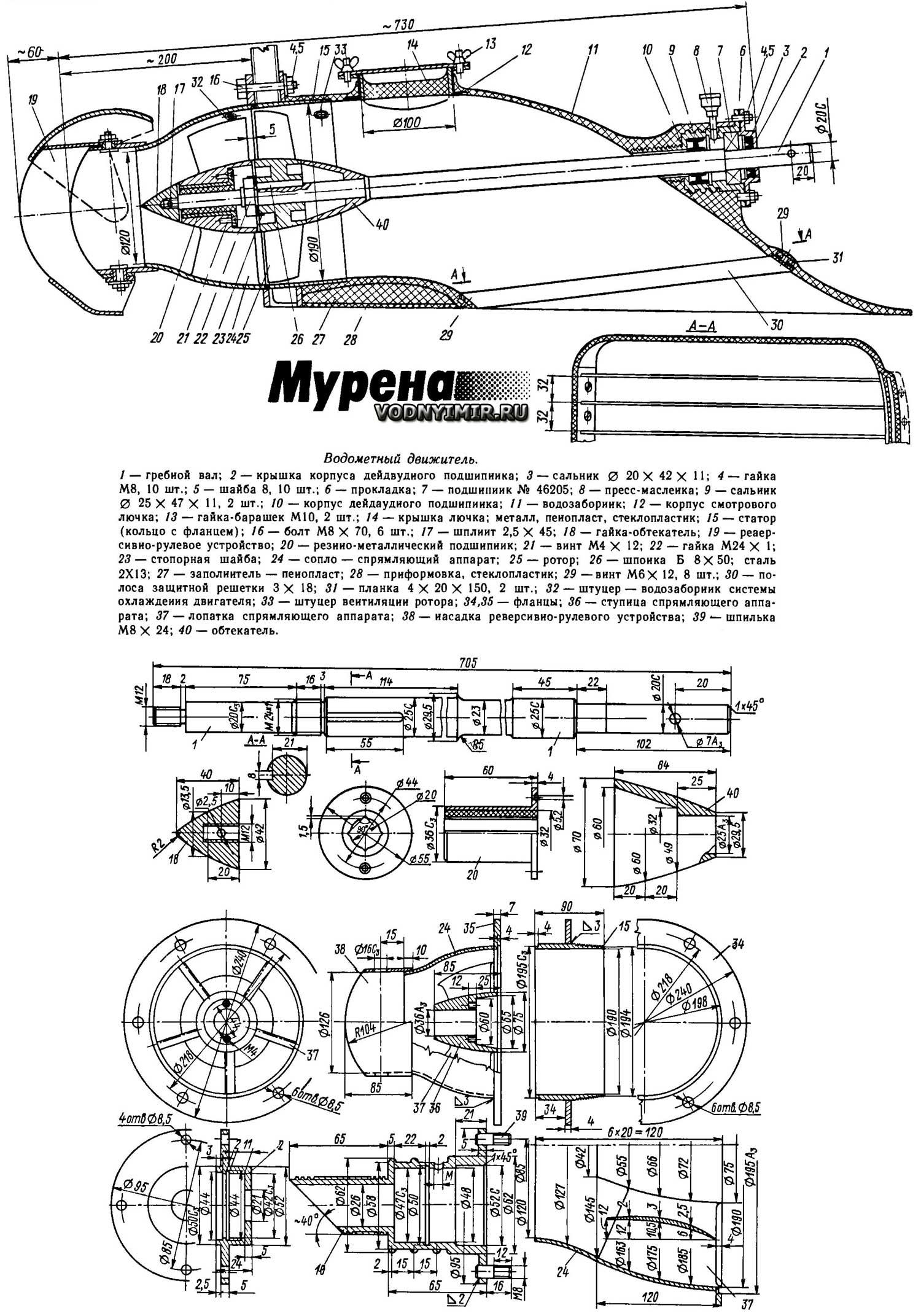 Как сделать лодочный мотор своими руками: чертежи, варианты сборок и рекомендации