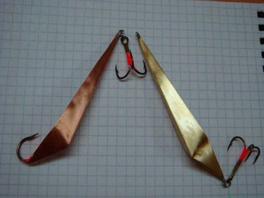 Зимние блесна на судака: изготовление своими руками
