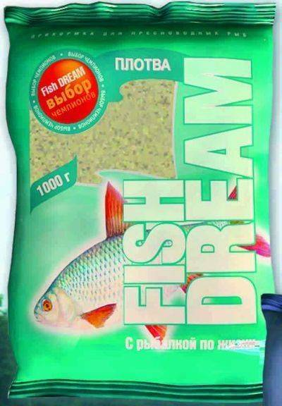 Обзор прикормки Fish Dream