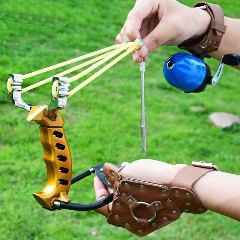 Рогатка своими руками для рыбалки